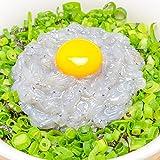 築地の王様 生しらす 駿河湾産 200g 2~4人前 超新鮮な無添加の国産天然生しらすは、一度食べれば違いに驚く 静岡産 生シラス丼 生しらす丼