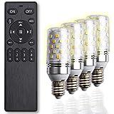 【Amazon限定ブランド】LED電球 口金 E17 リモコン付 40w形相当 調光調色 SB2-cn-e17-4+1 FineKagu+