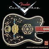 Fender Custom Shop Guitar 2018 Calendar フェンダーカスタムショップカレンダー
