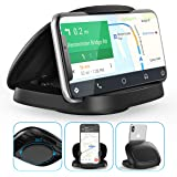 Cell Phone Holder for Car,JOYEKY Vertical Horizontal Car Phone Mount with 360° Rotate Strong Sticky Gel Premium 3M Dashboard