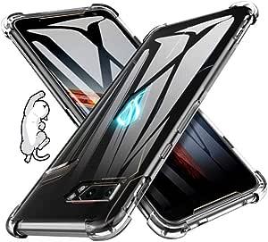 ASUS ROG Phone 2 ZS660KL ケース 透明TPU カバー さを魅せるスマホの美し 存在感ゼロ 巧みシリーズ TPU 透明 保護 ケース カバー 背面 ンプロテクター シェル 軽量 薄型 シェル 耐衝撃 指紋防止 衝撃 吸収 擦り傷防止 クリア ソフト カバー ケース 透明シェル