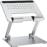タブレット スタンド 折りたたみ式 ホルダー 高さ角度調整可能 アルミ製 姿勢改善 人間工学設計 for iPad/Ki…
