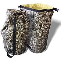 Extra Large Laundry Hamper &ウェットバッグ。耐久性防水Dirty服バスケット。肩ストラップ持ち運びの、Perfect for College Students寮&ファミリ。Foldsフラットforストレージ 31.5