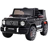 Rigo Kids Ride On Cars Mercedes-Benz AMG G63 Licensed Remote Control MP3-Black