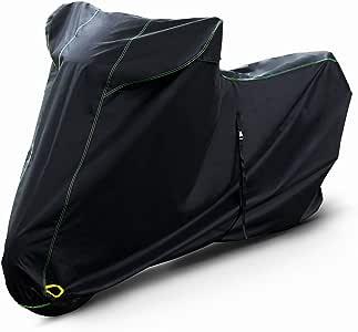 Barrichello(バリチェロ) バイクカバー ブラック M~7L 選べる8サイズ 高級 オックス 300D 使用 厚手 生地 防水 【3L】