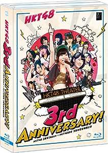HKT48 3周年3days+HKT48劇場 3周年記念特別公演 (Blu-ray Disc5枚組)