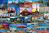 1000ピース ジグソーパズル 世界遺産セレクション44(49x72cm)