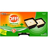 OFF! Citronella Scented Candle, Ambiance Enhancing Centerpiece, Burns for up to 25 Hours, 16 oz. 2 Count