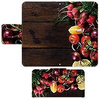 Xperia X Perfomance SO-04H ☆ ケース・カバー 完全受注生産 完全国内印刷 スライド式スマホケース 手帳型 写真 野菜たち エクスペリア スマホカバー オリジナルデザイン プリント 日本製