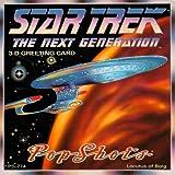 STAR TREK THE NEXT GENERATION 3?- D Greeting Card???Locutus of Borg