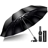TSUNEO 折りたたみ傘 【2021強化版 超大12本骨】 折り畳み傘 メンズ 大きい おりたたみ傘 自動開閉 台風対…