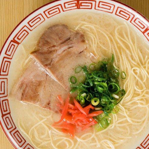 【博多→直送】 長浜屋台ラーメン ナンバーワン 4食  (まろやか とろみ味)