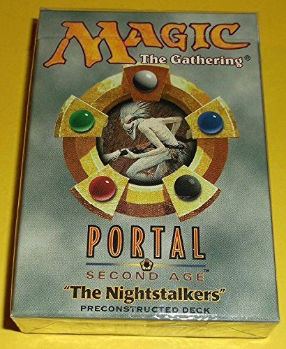 MTG Magic The Gathering Portal Second Age The Nightstalkers Preconstructed Set Deck