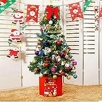 グリーン 人工のクリスマスツリー 装飾, 1.5 m 4.9 ft ヒンジ クリスマスツリー 金属製の脚 容易な組み立て クリスマス ツリー ショッピング モール ウィンドウの-A 1.5m/4.9 ft
