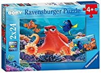 Ravensburger Disney: Finding Dory 2 Pack Puzzle (24 Piece) 【You&Me】 [並行輸入品]