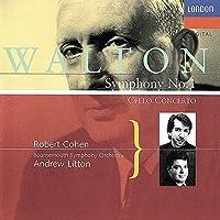 Walton: Cello Concerto / Symphony 1