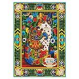 5D DIYフルドリルダイヤモンド絵画猫のクロスステッチ刺繍ウォールアートキット