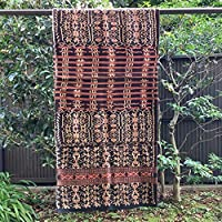 イカット ロティ島 インドネシアの本物 アンティーク 絣織物 型番4017