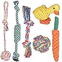 犬おもちゃ 噛むおもちゃ Fohil 犬噛むおもちゃ 6個セット ストレス発散 ムズムズ解消 清潔 歯磨き 丈夫 耐久性 小型犬 中型犬に適応