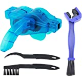 Bicycle Chain Cleaner Brushs Bike Cleaning Scrubber Brush Kits