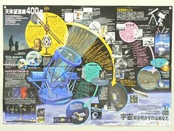 天体望遠鏡400年 A1判