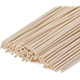 Set of 100 Reed Diffuser Sticks - Wood Rattan-Reed Sticks -Diffuser Glass Bottles-Diffuser Refills- Spa-Aromatherapy, by HOSS