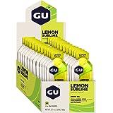GU Energy Original Sports Nutrition Energy Gel, Lemon Sublime, 24 Count Box