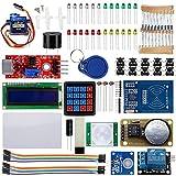 OSOYOO(オソヨー) Arduino RFIDセキュリティシステムDIYスターターキット RFID実験研究キット ドア アクセスコントロール 自動改札システム 貨物運搬や家畜の管理などにも使用されている (RFID実験や開発用電子部品キット)