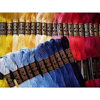 クロスステッチ DMC25番刺繍糸 スタンダードカラー全部セット