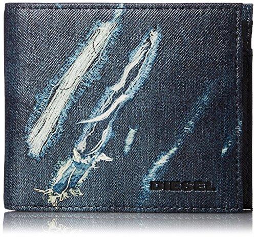 (ディーゼル) DIESEL メンズ 二つ折り財布 MONEY-MONEY HIRESH S - wallet X03370P0408 H6393 UNI