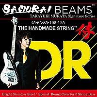 DR ベース弦 5弦 村田 隆行 シグネチャーモデル SAMURAIBEAMS ステンレス .045-.125 JSB5-45