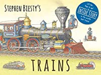 Stephen Biesty's Trains: Cased Board Book with Flaps