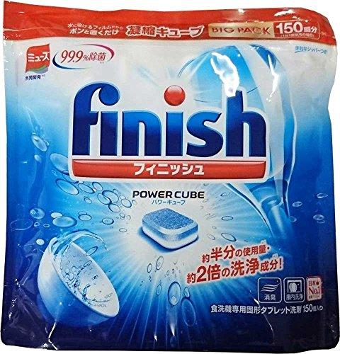 フィニッシュ 食洗機用洗剤 タブレット パワーキューブ ビッ...