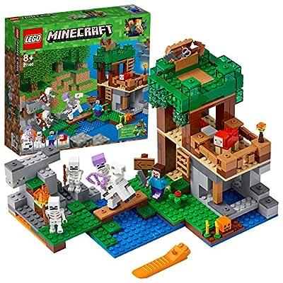 LEGO Minecraft The Skeleton Attack 21146 Playset Toy