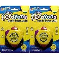 Crayo Crazeクレヨン6色クレヨンホイール、4のパック