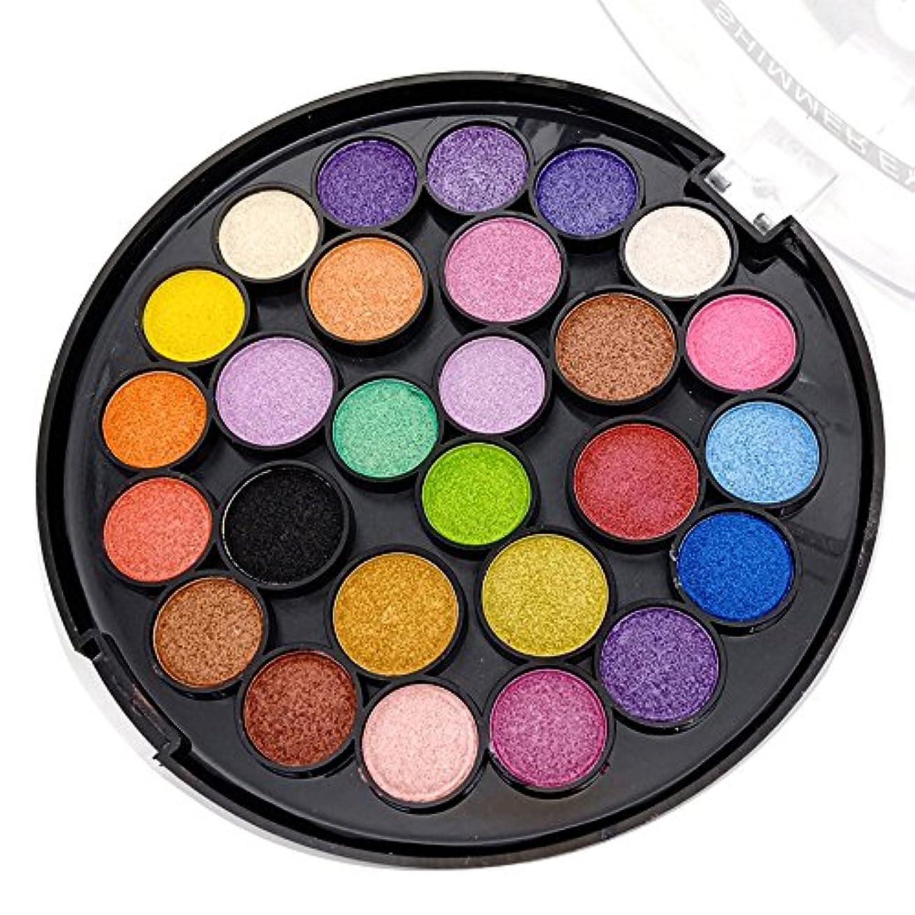 薄めるフクロウ醜いAkane アイシャドウパレット MISS ROSE ファッション マット 綺麗 防水 優雅な 人気 美しい 真珠光沢 つや消し 高級 持ち便利 日常 Eye Shadow (27色)