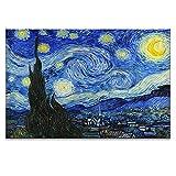 Arta 壁飾り アートパネル インテリアアート「星空」キャンバス絵画 自然風景