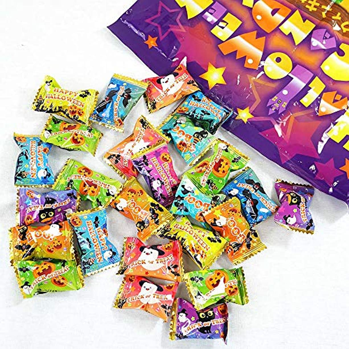 びっくりした母音惑星アメハマ ハロウィン キャンディ 1kg 業務用 ハロウィン 限定 お菓子 飴 詰め合わせ
