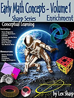Early Math Concepts - Volume 1: Enrichment, Conceptual Learning (Sharp Series) by [Sharp, Lex]