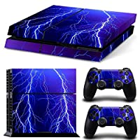 Zhhlinyuan 安定した品質 Vinyl Skin Sticker Protective ステッカー Case for PlayStation 4 PS4 Console+Controllers TN1101