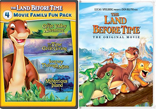Land Before Time & The Land Before Time II-V 5-Movie Family Fun Pack (The Great Valley Adventure / The Time of the Great