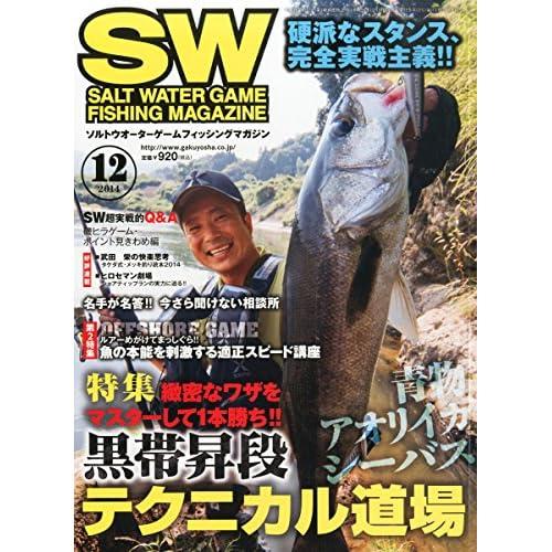SALT WATER GAME FISHING MAGAZINE (ソルトウォーターゲームフィッシイングマガジン) 2014年 12月号 [雑誌]
