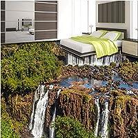 Sproud カスタム 3D 屋外壮大な滝の 3 つの次元の絵画のバスルームリビングルームより厚いウェアラブル Waterpr 300 Cmx 210 Cm
