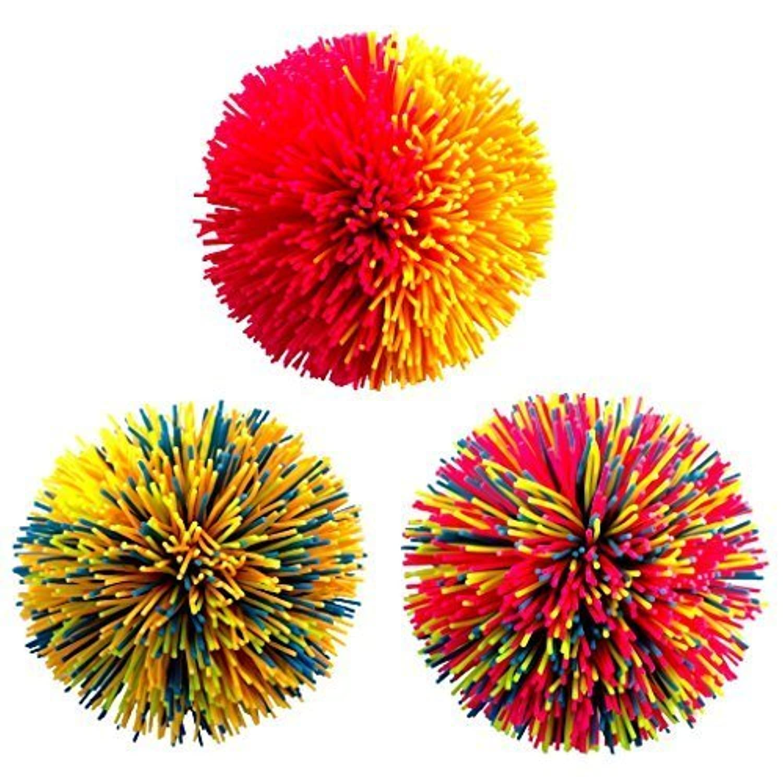 Hasbro クッシュボール(Kooshball)レギュラーサイズ 3種類セット 並行輸入品