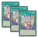 【 3枚セット 】遊戯王 英語版 FLOD-EN089 F.A. Winners (レア) 1st Edition