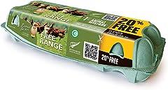 Farmer Brown Free Range Eggs (10 Piece), 530 g- Chilled