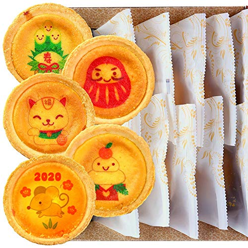 お正月 お祝い チーズタルト 10個セット 化粧箱入り