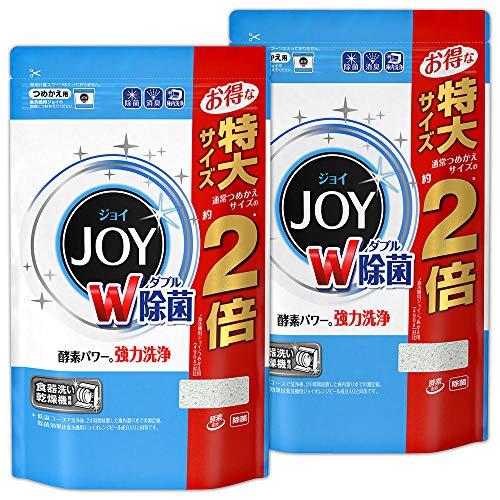 【まとめ買い】 食洗機用 ジョイ 食洗機用洗剤 除菌 詰め替え 特大 930g×2個