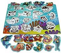 ジャンボノブ木製パズルキッズジグソーパズルパズルボードおもちゃ教育と学習#676