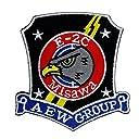 自衛隊グッズ ワッペン 三沢基地 飛行警戒監視群 E-2C パッチ ベルクロ付き